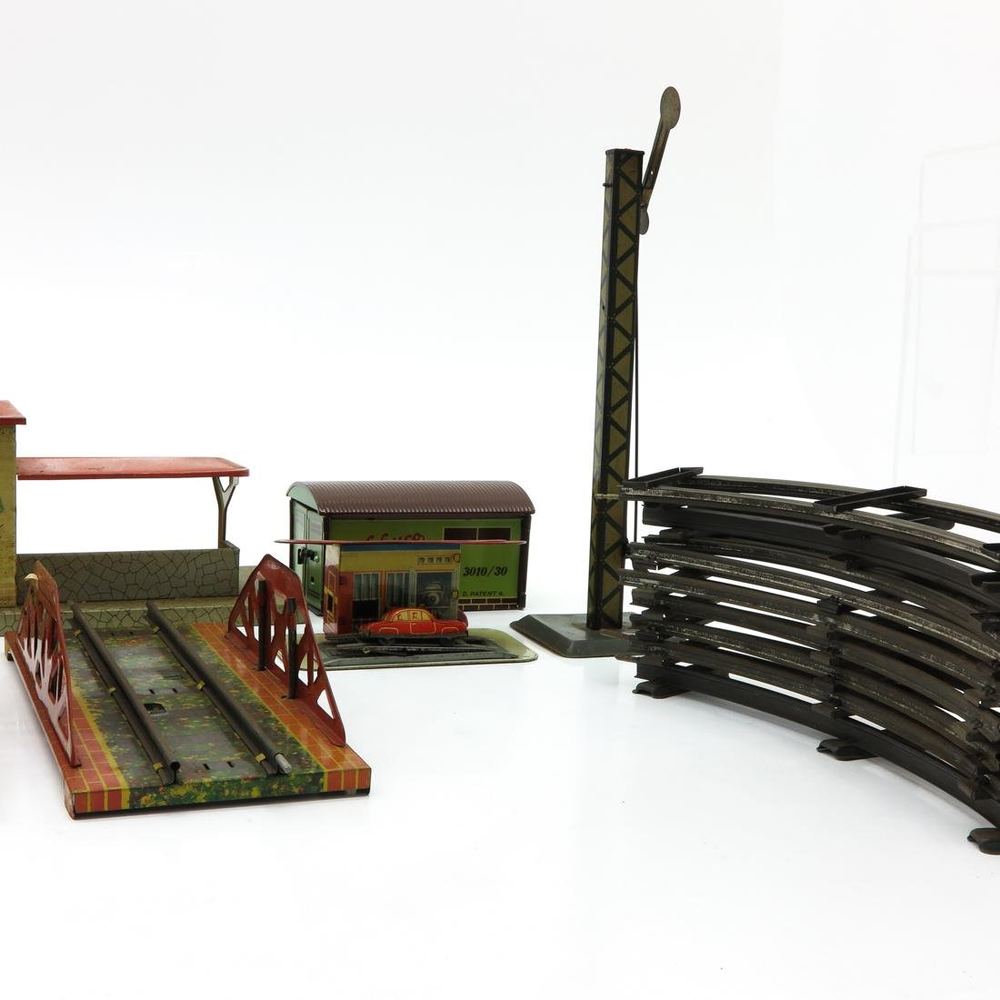 Diverse Lot of Vintage Train Station Accessories - 3