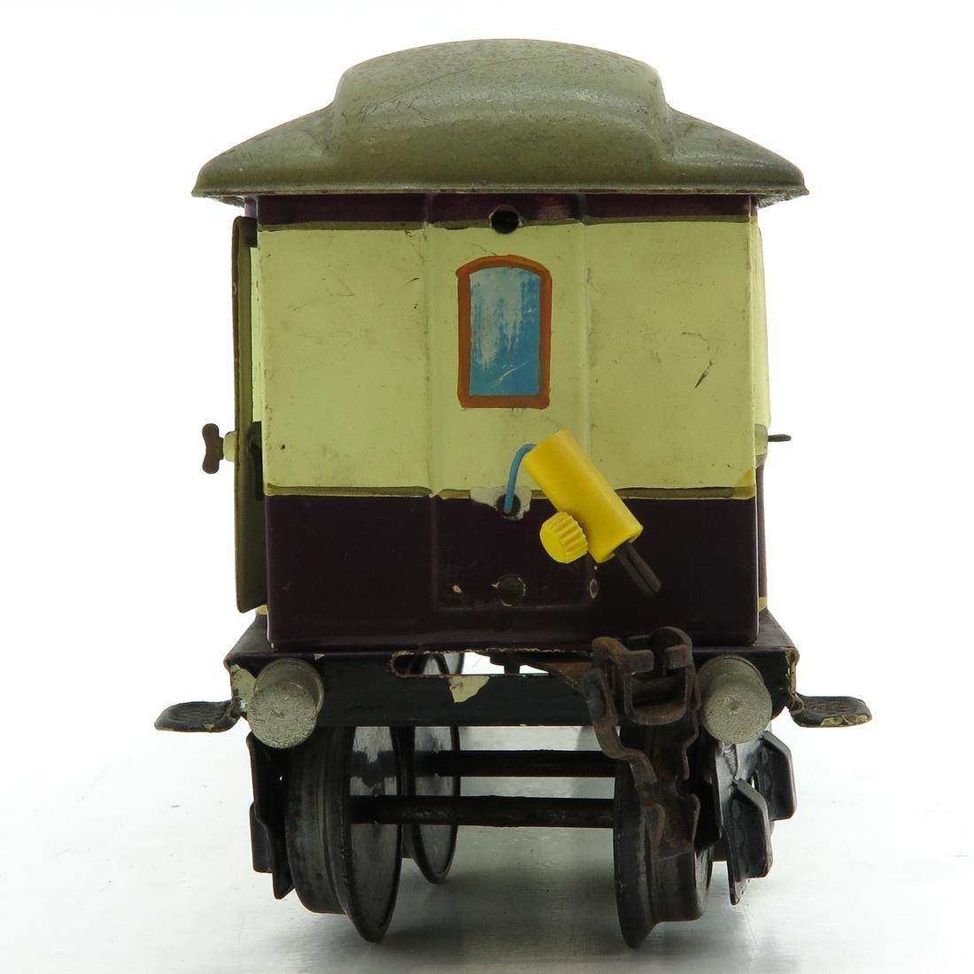 Vintage Marklin Rheingold Passenger Wagon - 2