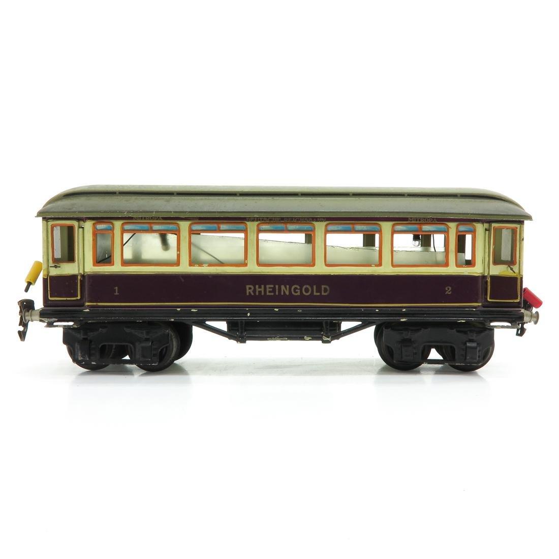 Vintage Marklin Rheingold Passenger Wagon - 3