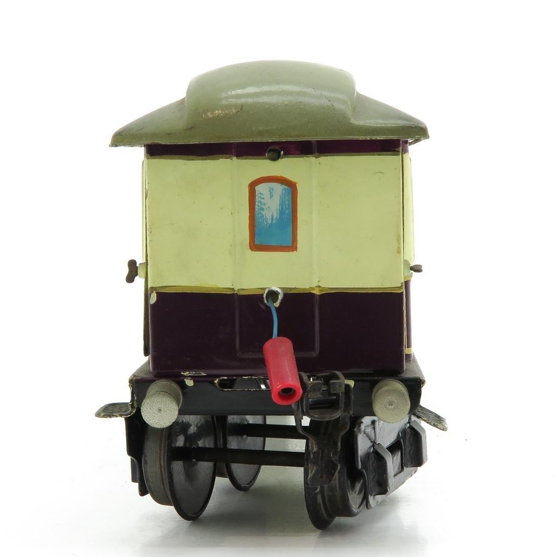 Vintage Marklin Rheingold Passenger Wagon - 4