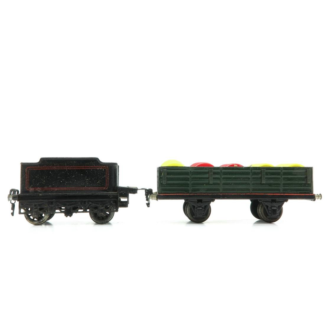 Lot of 2 Vintage Marklin Wagons - 3