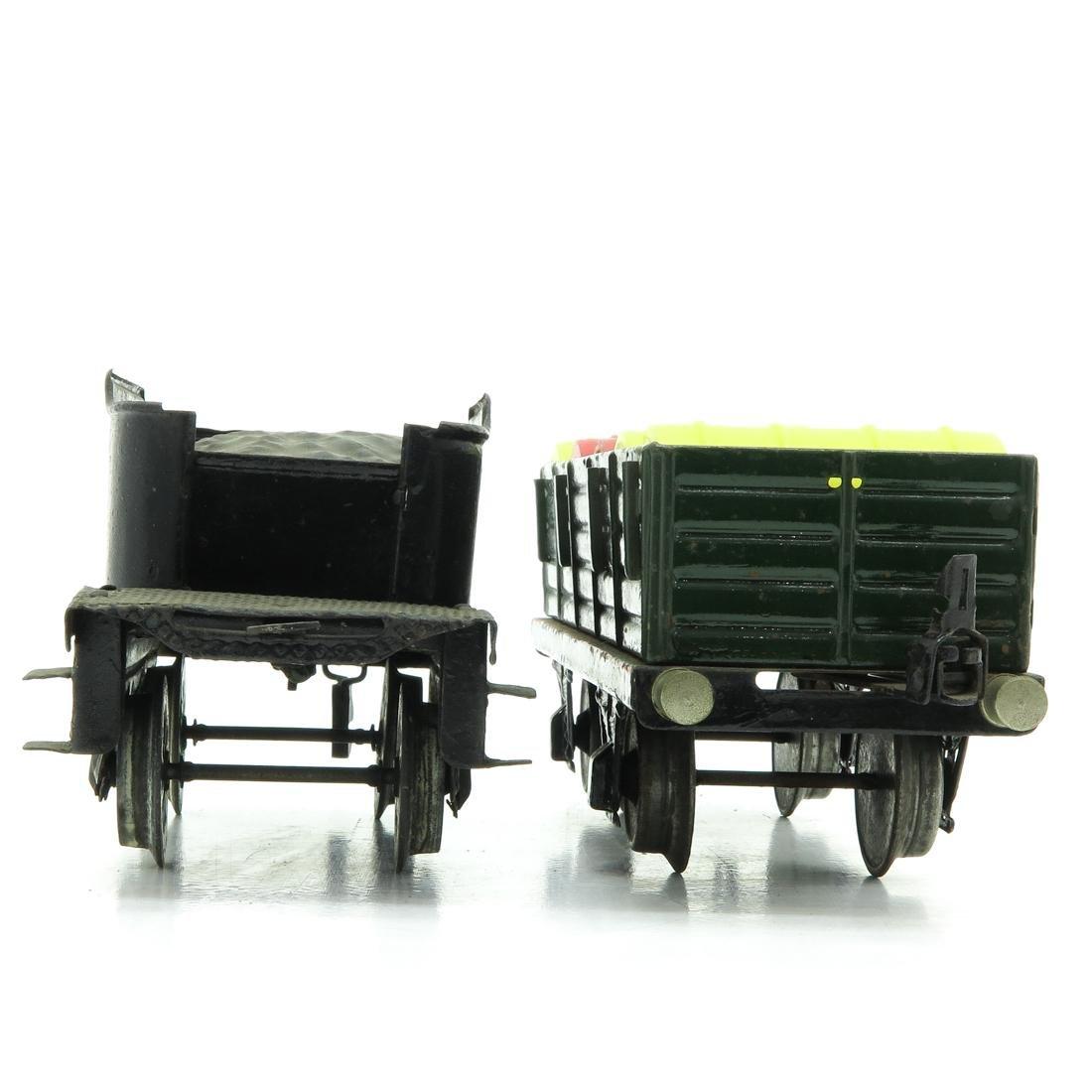 Lot of 2 Vintage Marklin Wagons - 4