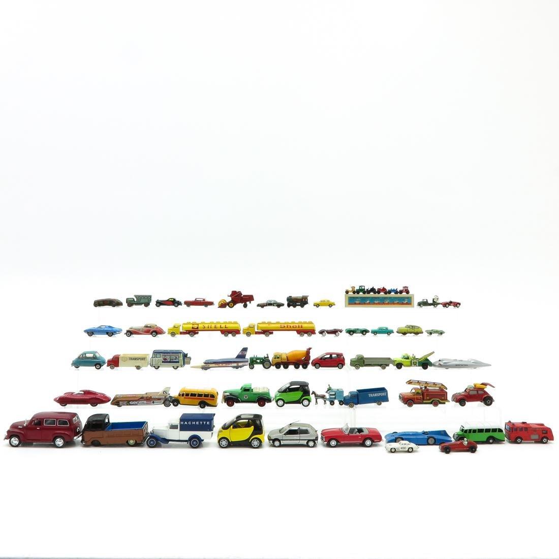Lot of Vintage Toy Autos