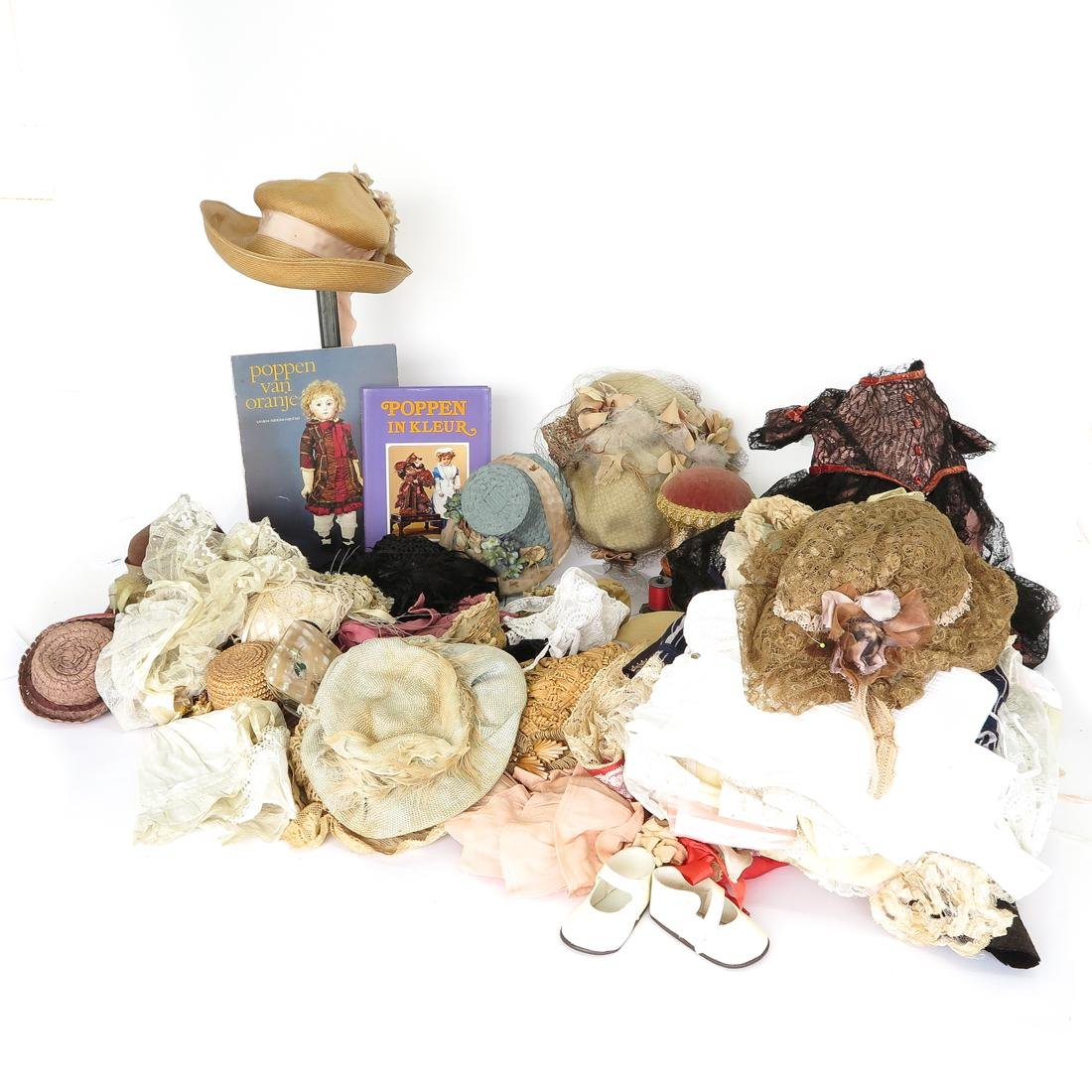 Diverse Lot of Doll Clothing and Accessories