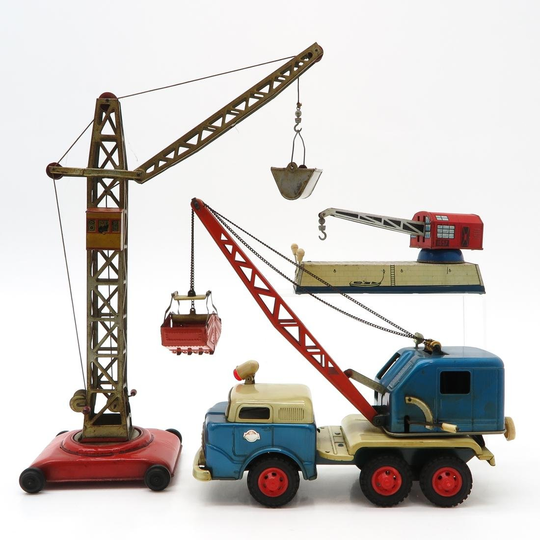 Diverse Lot of Vintage Construction Toys