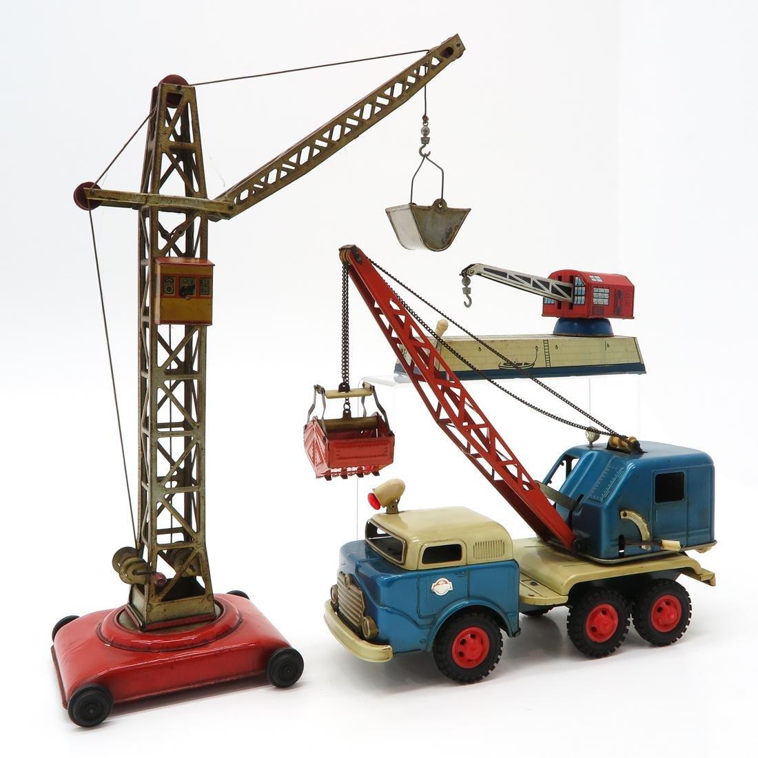 Diverse Lot of Vintage Construction Toys - 2