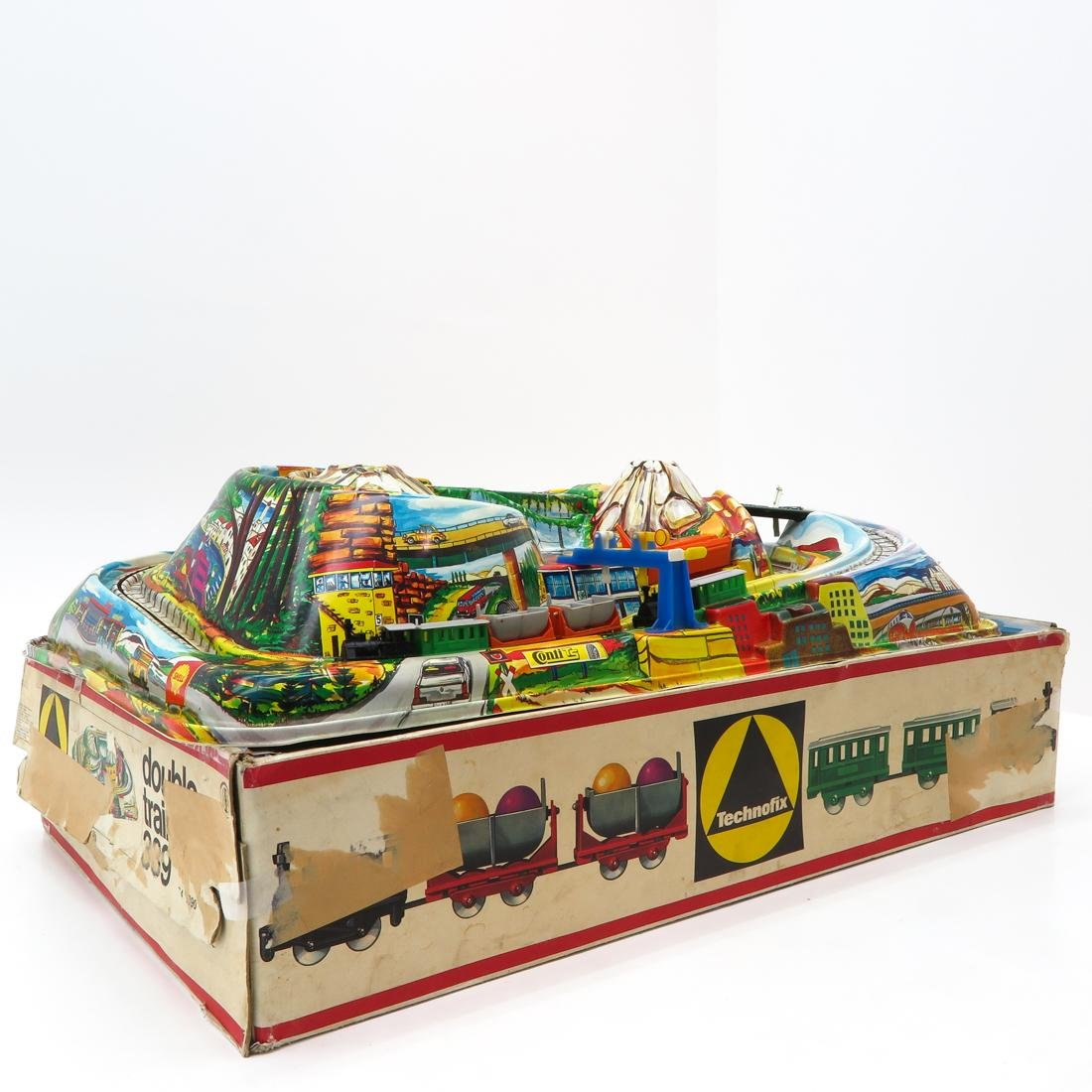 Vintage Technofix Train in Original Box - 2