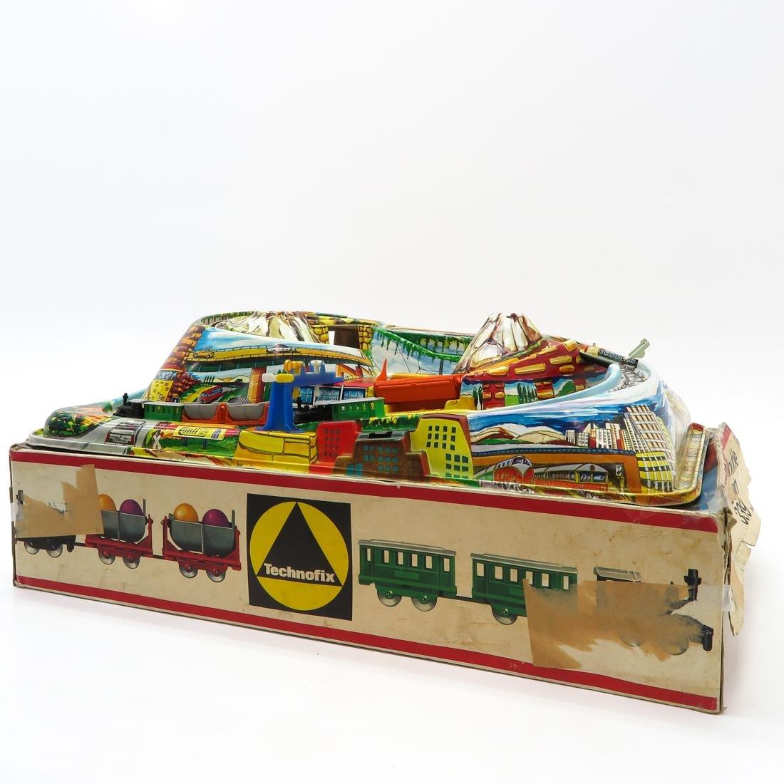 Vintage Technofix Train in Original Box - 3