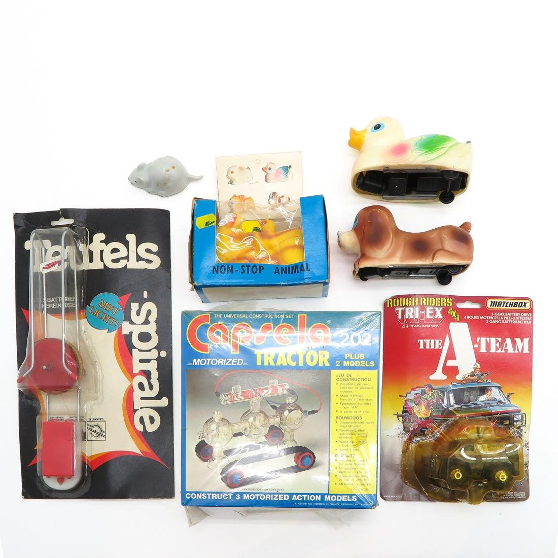 Diverse Lot of Vintage Toys - 4
