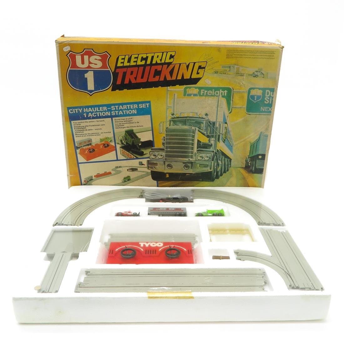 Vintage US 1 Electric Trucking Set by Tyco