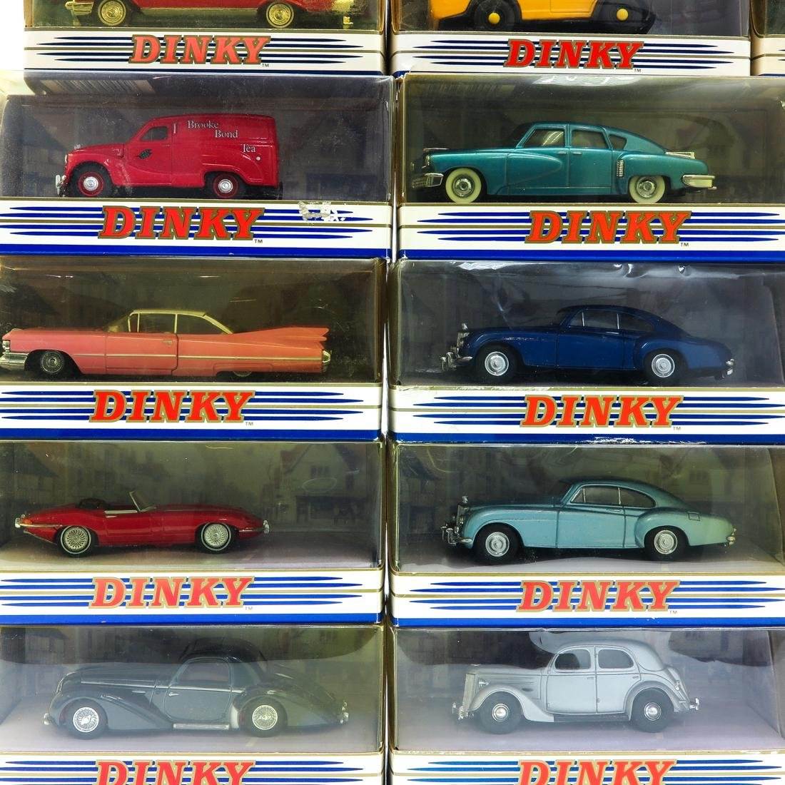 Lot of 22 Vintage Dinky Toy Cars - 2