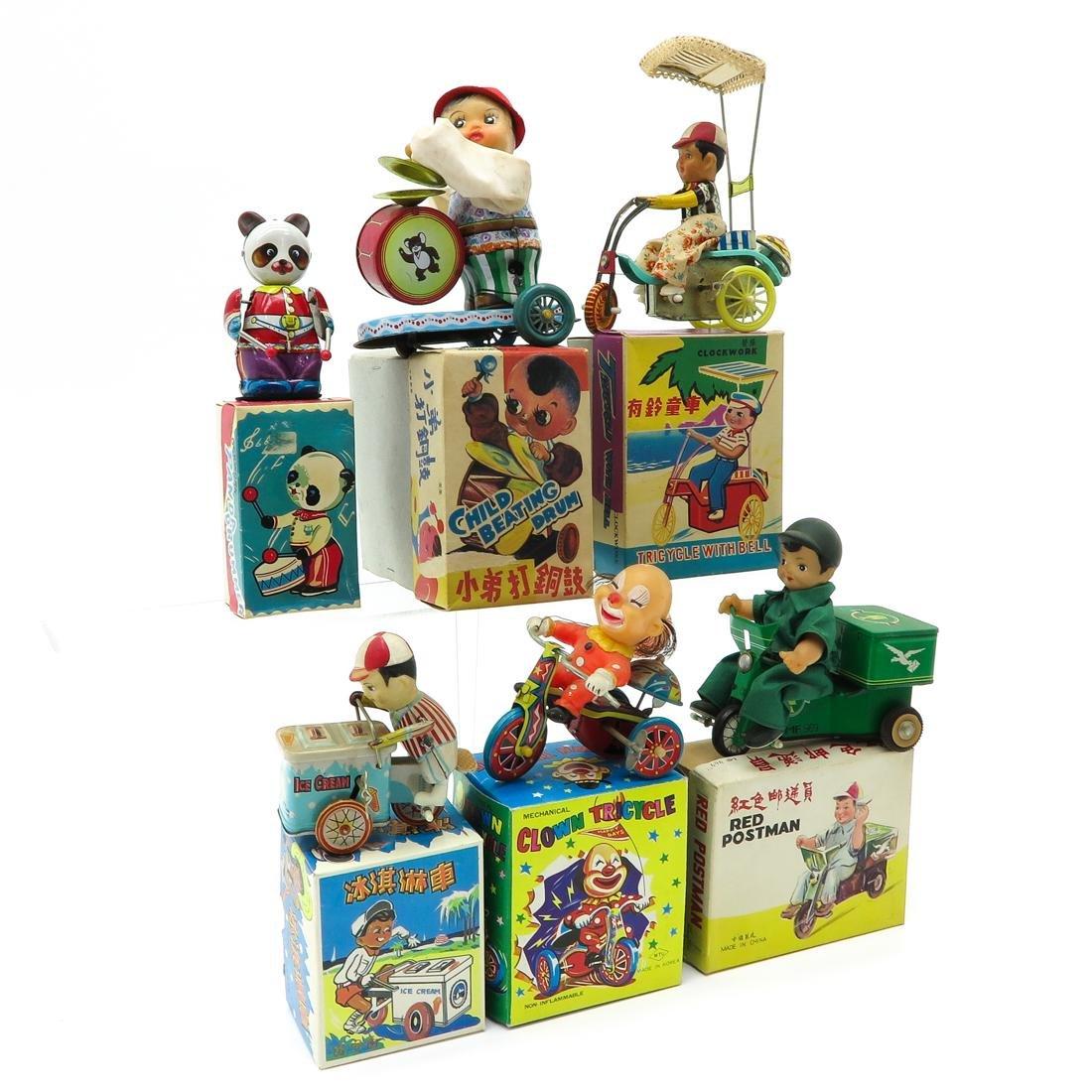 Diverse Lot of 6 Vintage Toys - 2