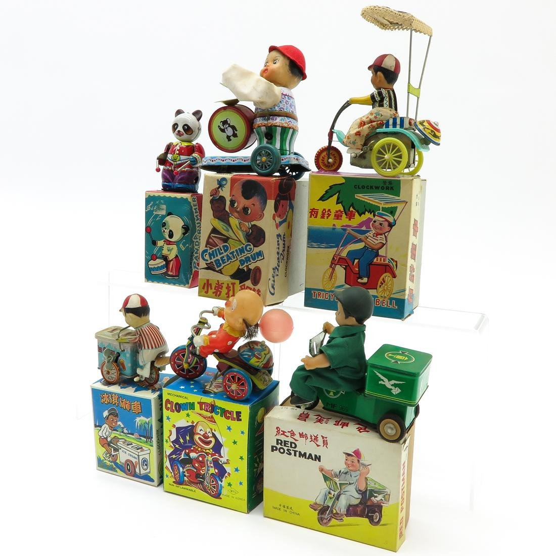 Diverse Lot of 6 Vintage Toys - 3