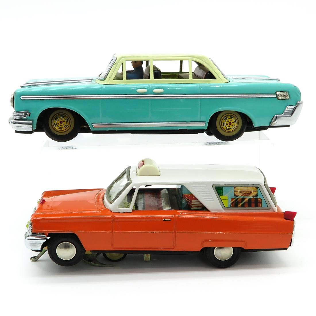 Lot of 2 Vintage Toy Cars