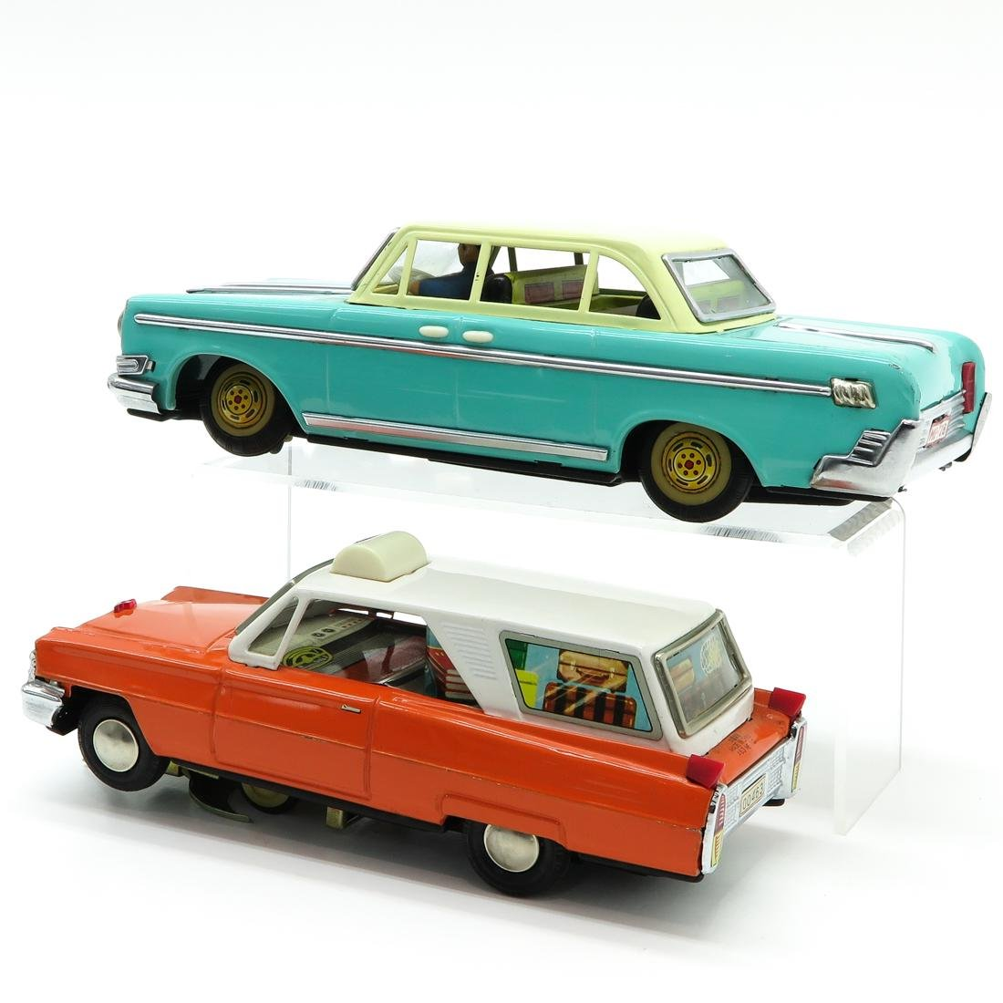 Lot of 2 Vintage Toy Cars - 3