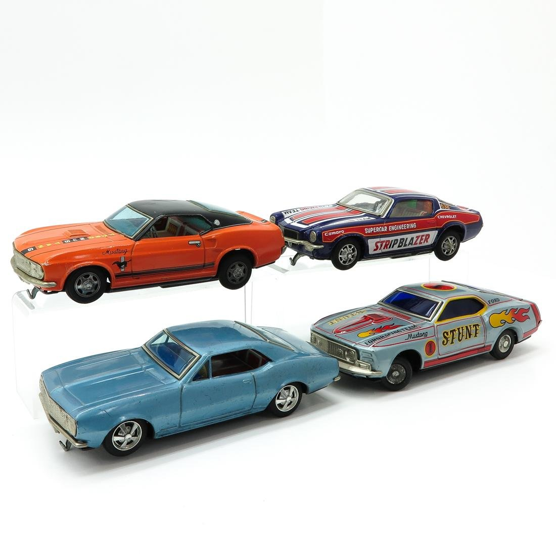 Lot of 4 Vintage Toy Cars - 2