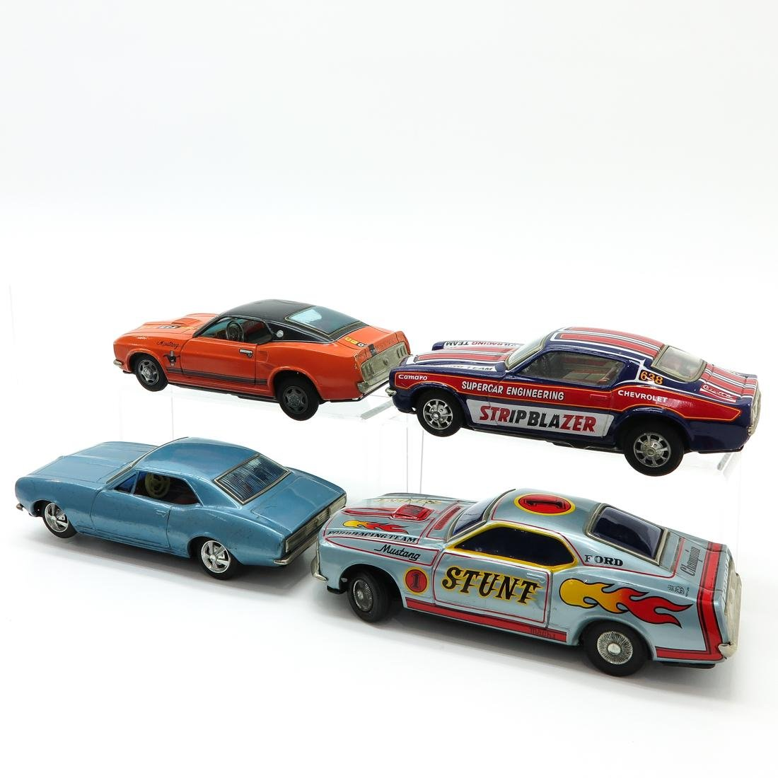 Lot of 4 Vintage Toy Cars - 3