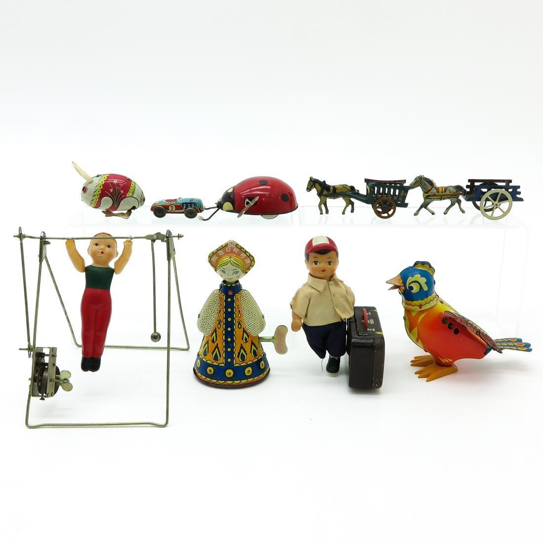 Lot of 9 Vintage Toys