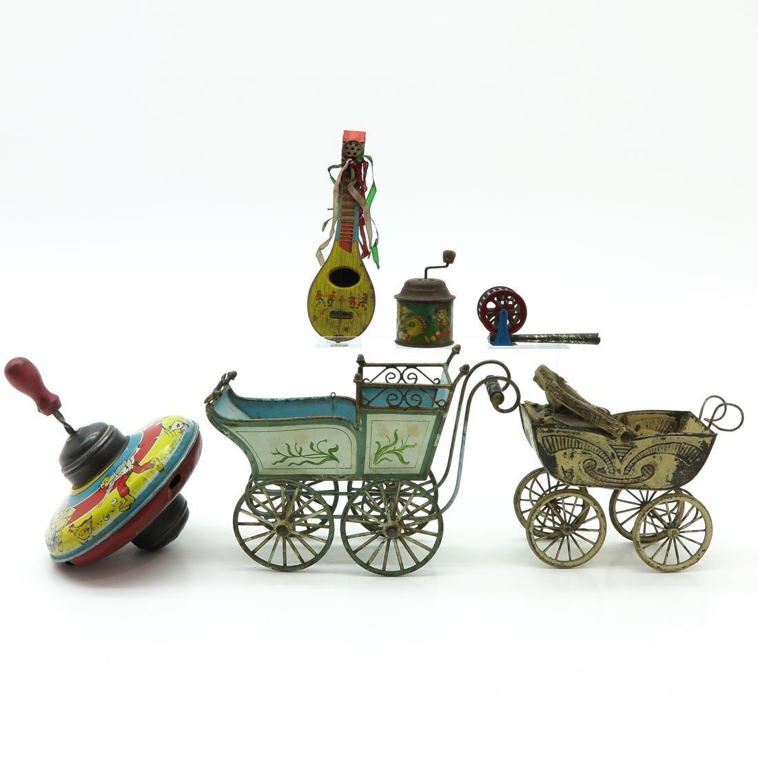 Diverse Lot of 6 Vintage Toys