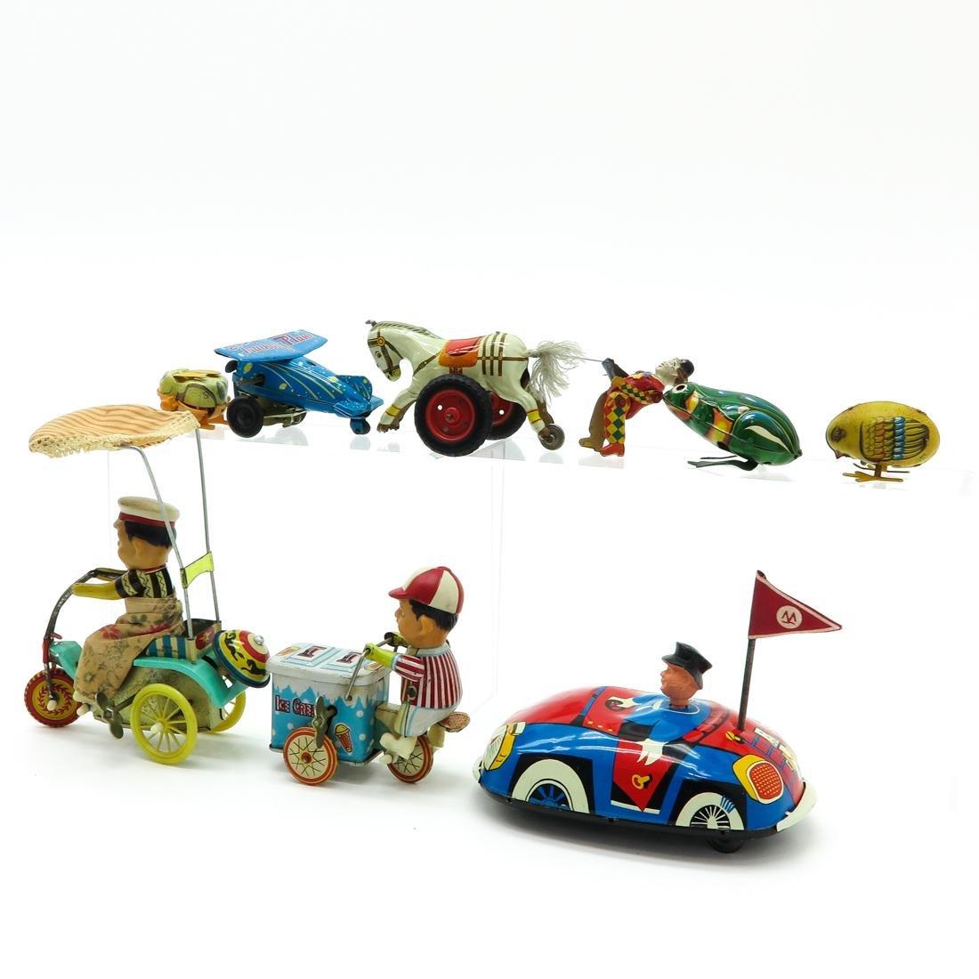 Diverse Lot of 8 Vintage Toys - 3