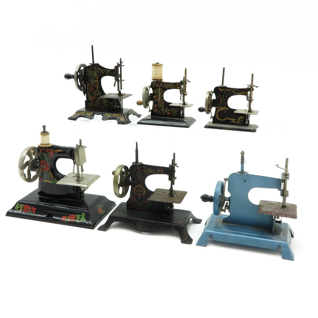 Lot of 6 Vintage Toy Sewing Machines - 3