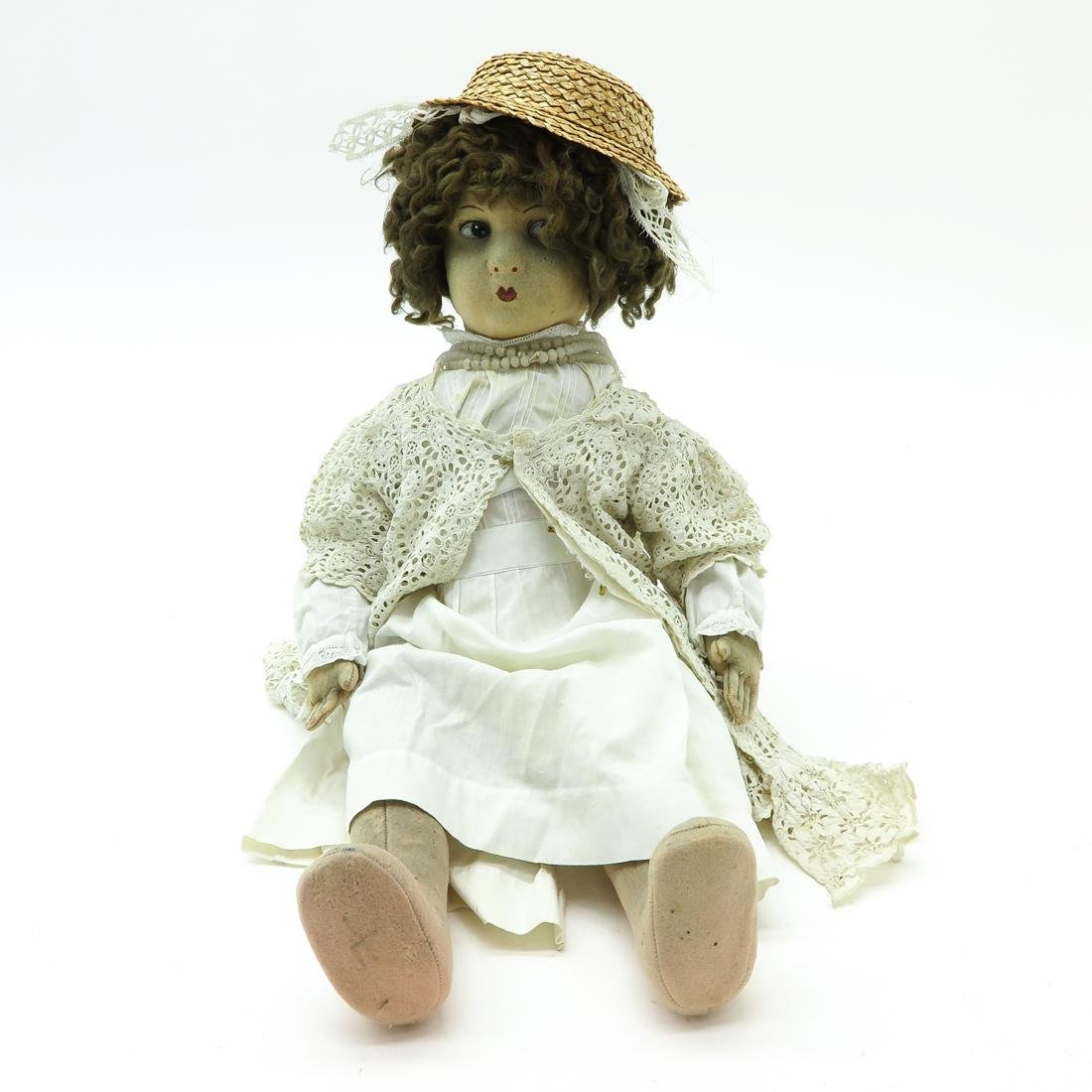 Vintage Cloth Doll Possibly Lenci