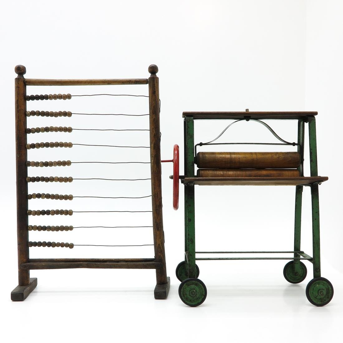Vintage Abacus and Toy Press