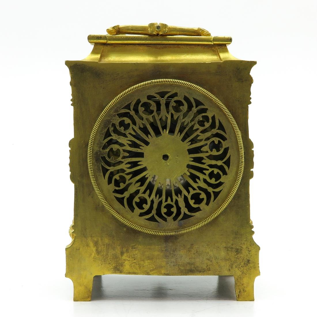 French Officers Clock Circa 1830 Signed Le Roy a Paris - 3