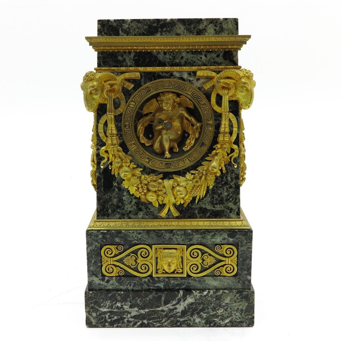 A Very Rare French Table Clock Circa 1800