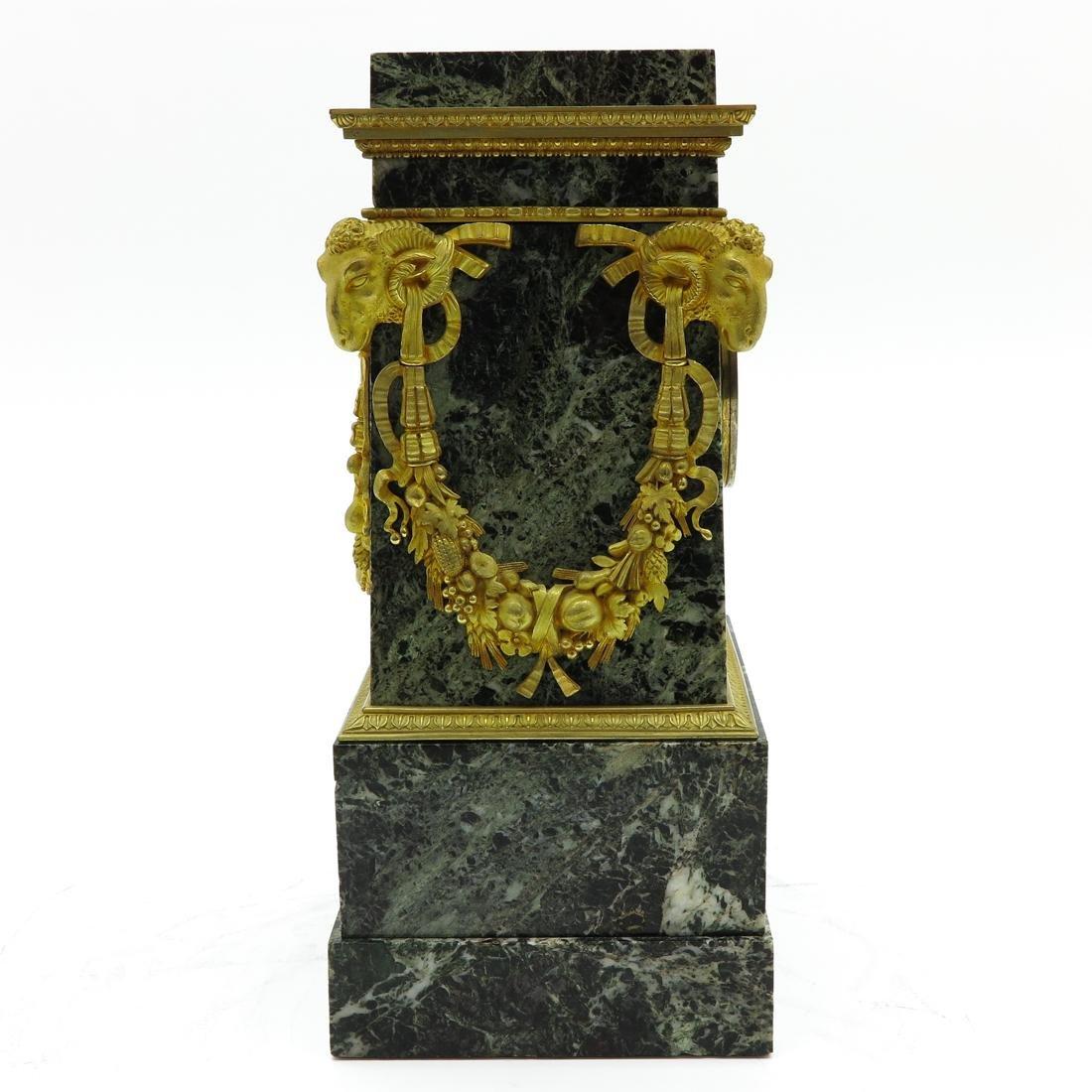 A Very Rare French Table Clock Circa 1800 - 2