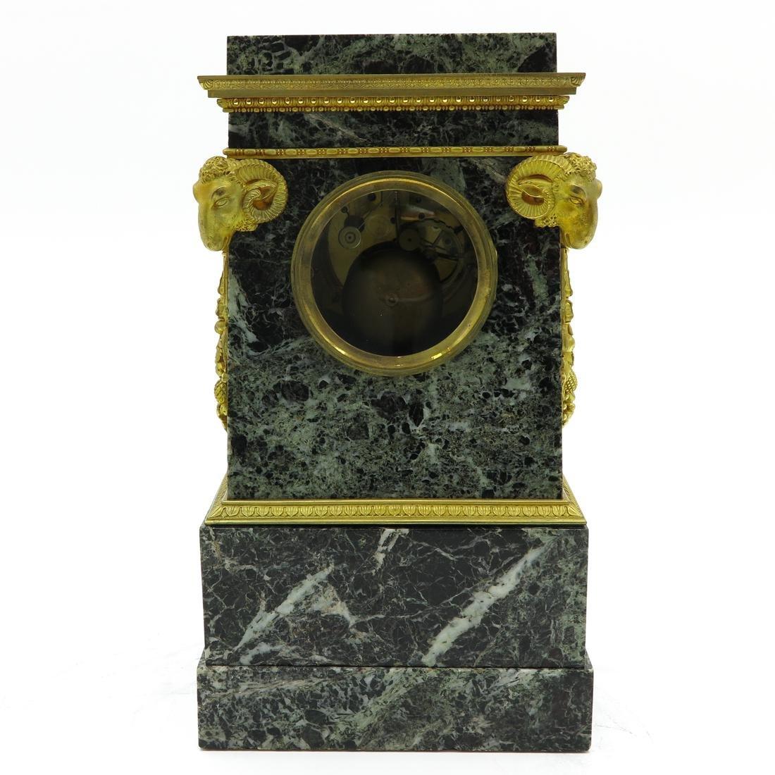 A Very Rare French Table Clock Circa 1800 - 3