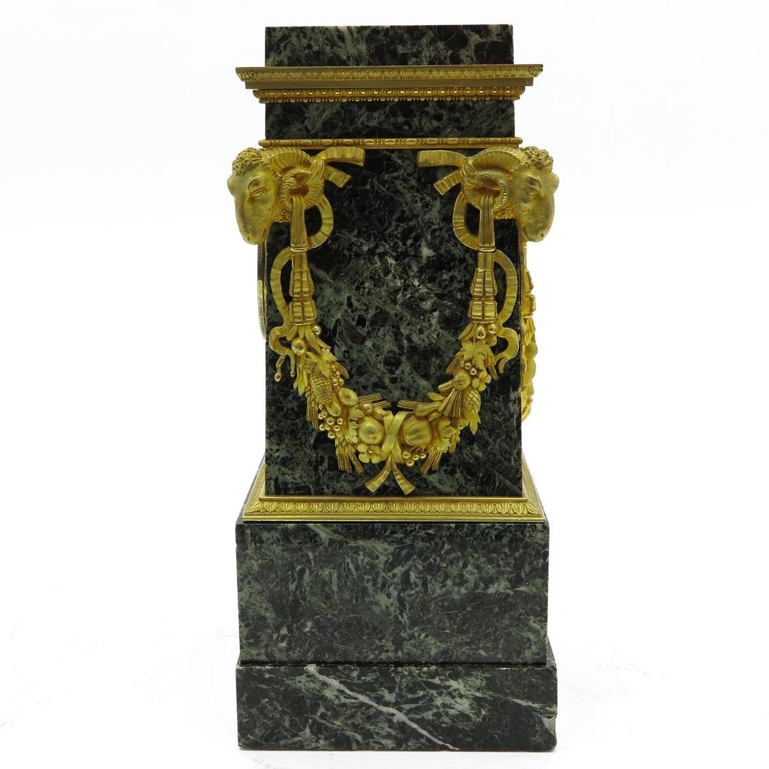 A Very Rare French Table Clock Circa 1800 - 4