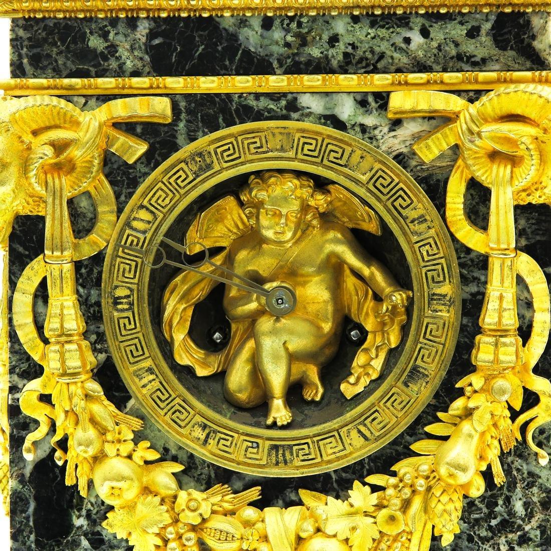 A Very Rare French Table Clock Circa 1800 - 6
