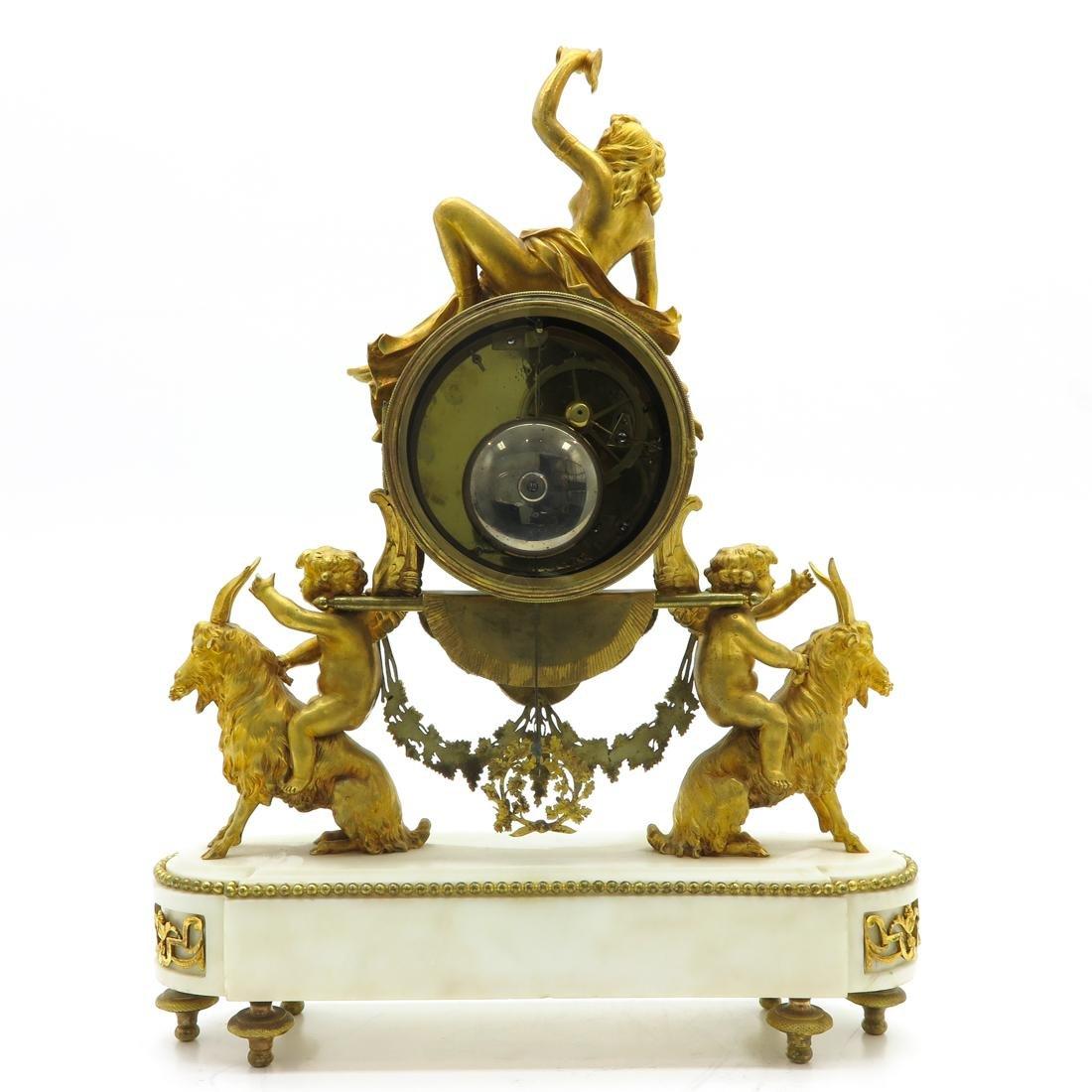 French Louis XVI Period Pendule Signed Le Poute a Paris - 3