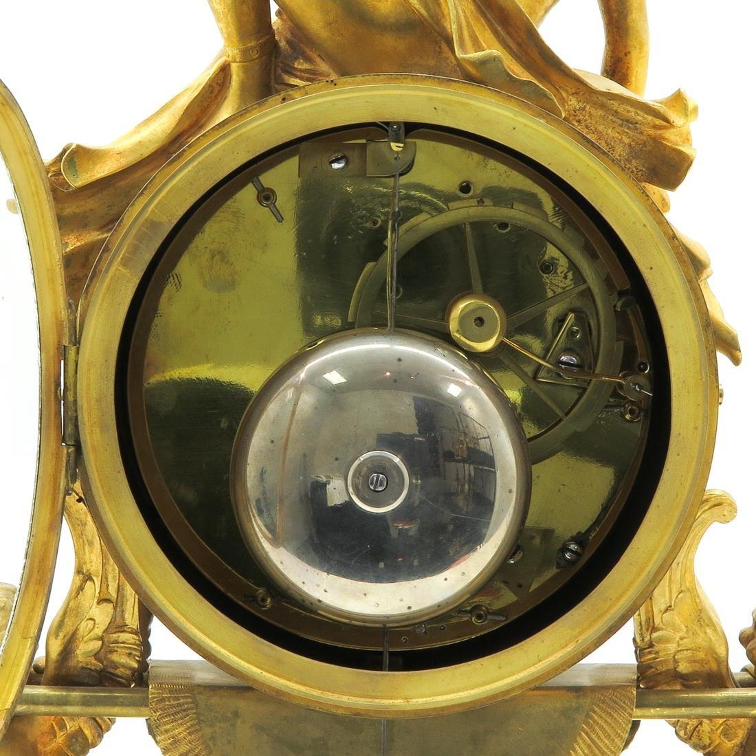 French Louis XVI Period Pendule Signed Le Poute a Paris - 5