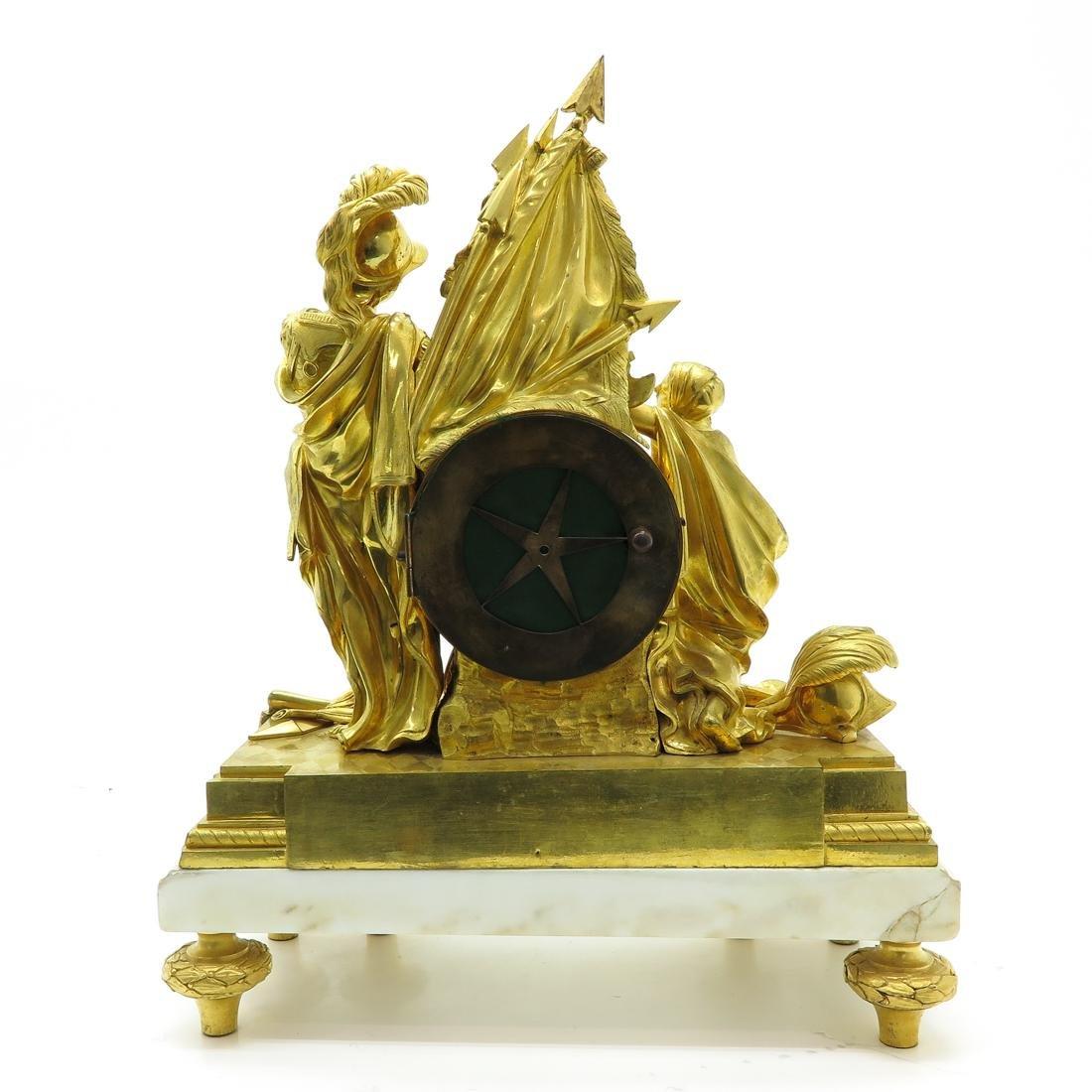 French Pendule Circa 1760 Signed Louis Goret Paris - 3