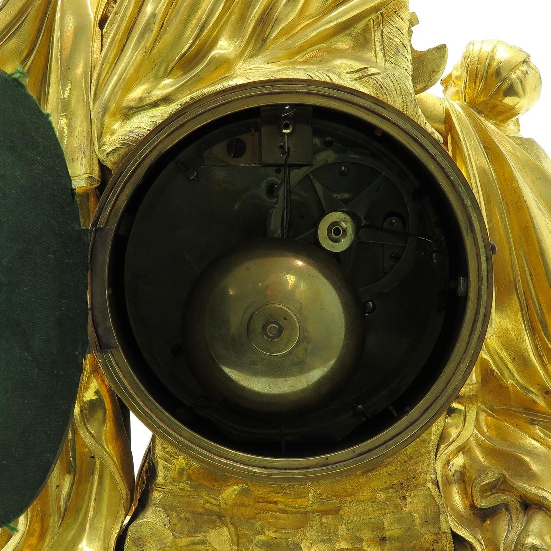 French Pendule Circa 1760 Signed Louis Goret Paris - 5