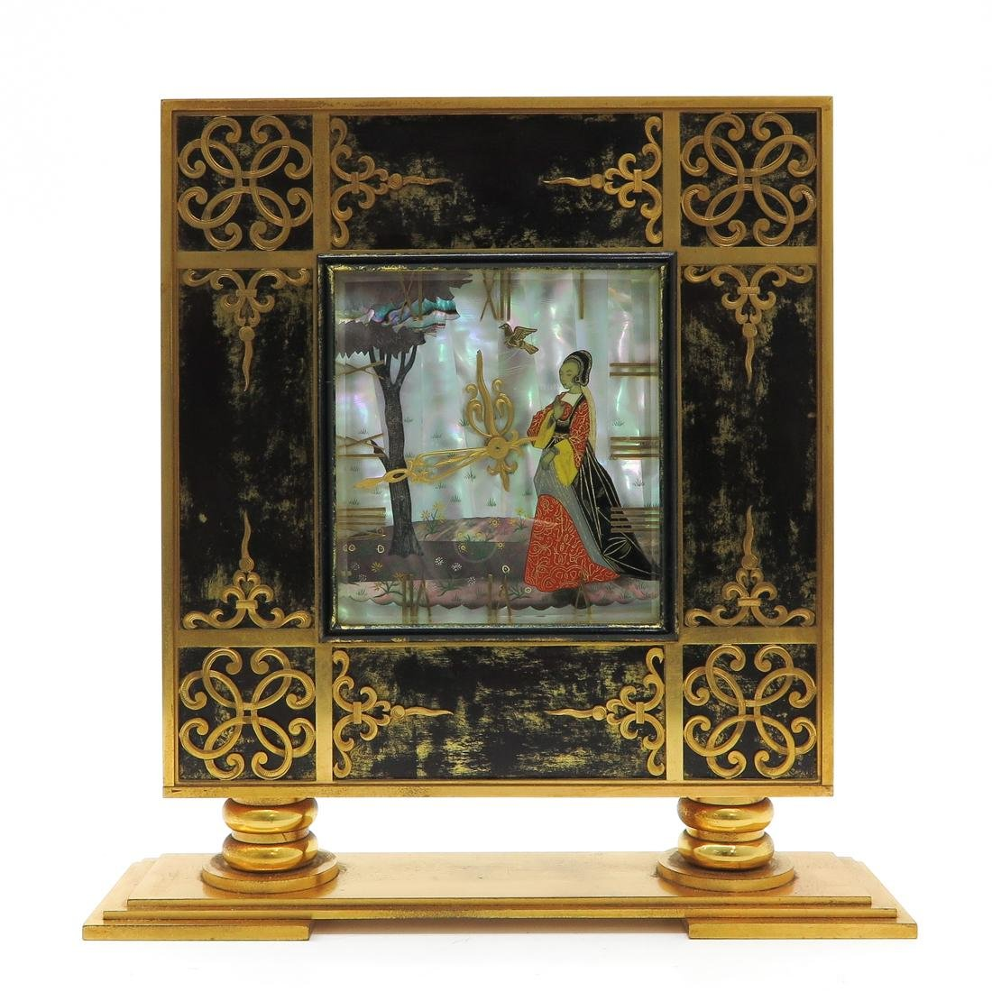 Asian Decor Table Clock
