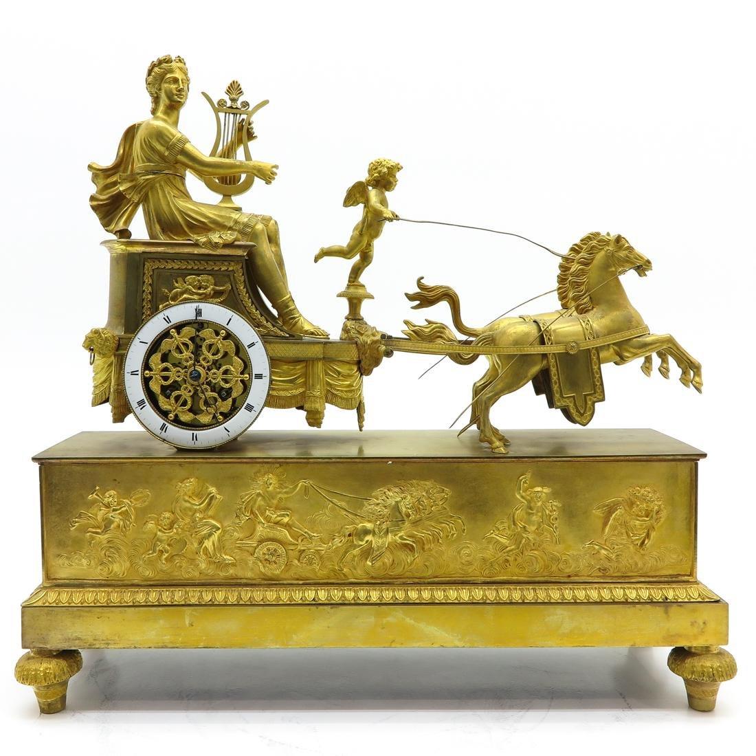 A Fine French Pendule Circa 1790