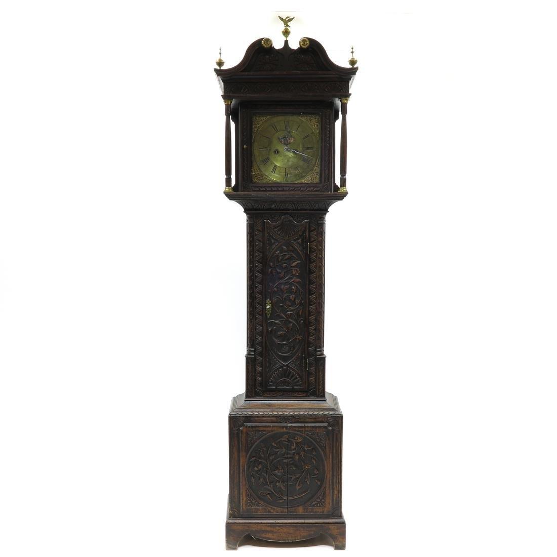 18th / 19th Century English Standing Clock