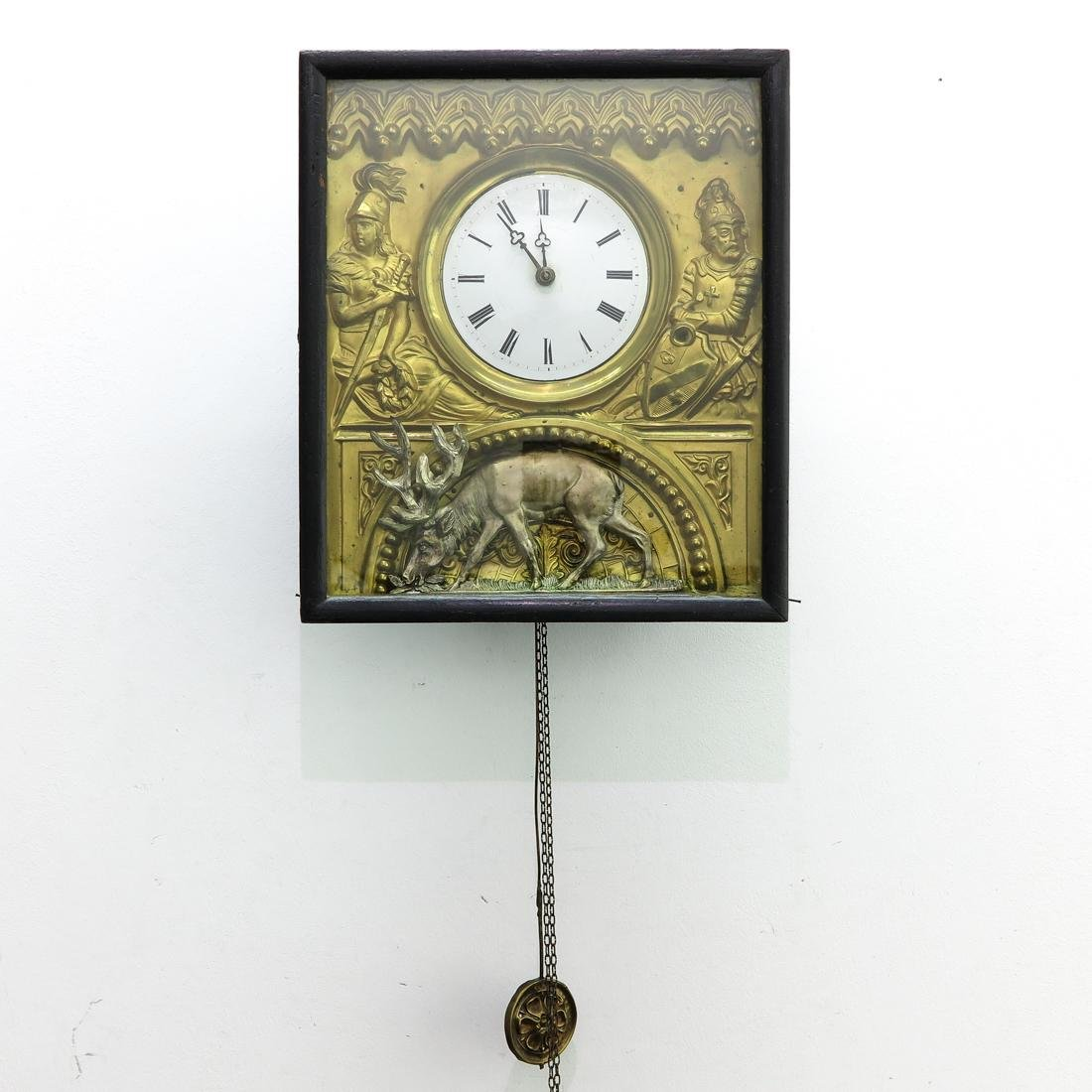 19th Century German Wall Clock