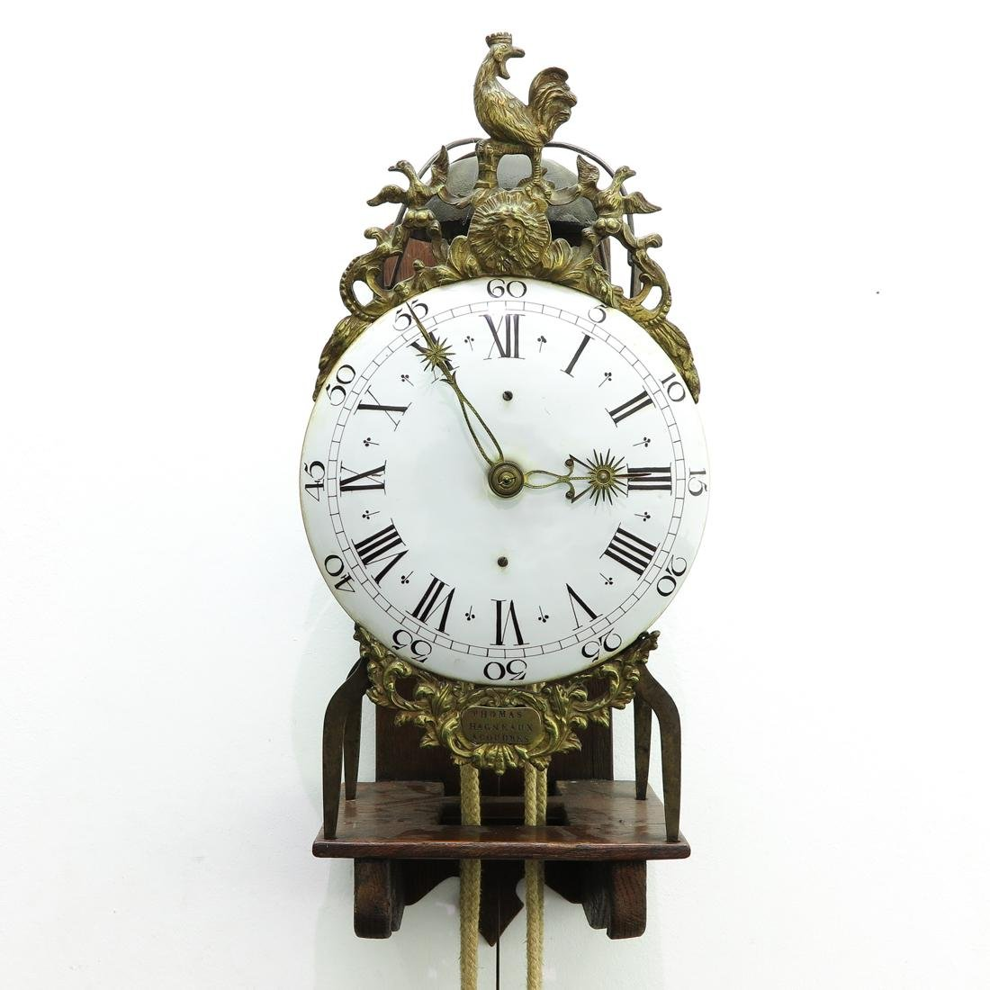 Signed French Thomas Hagneaux Clock