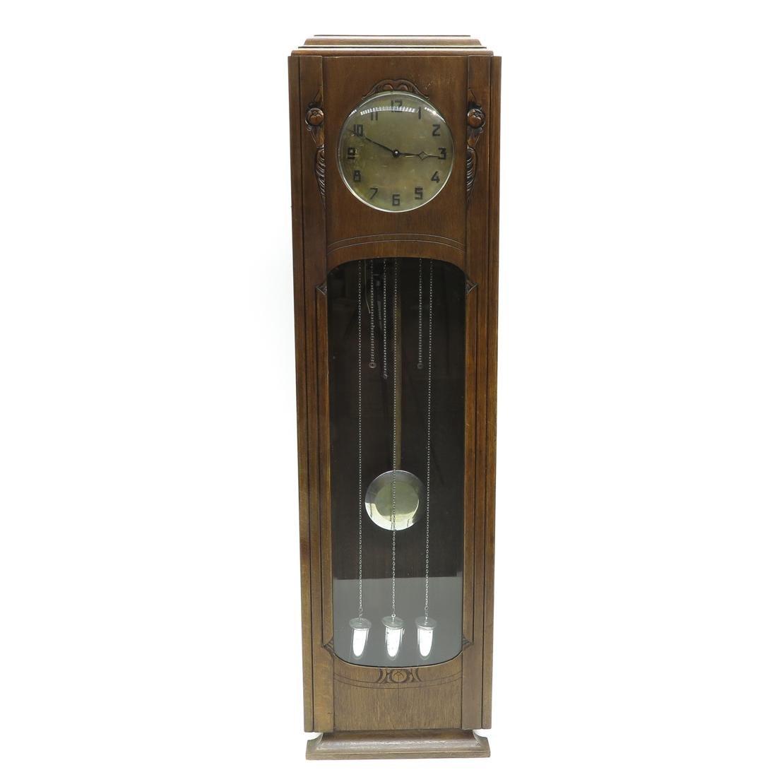 Art Decor Standing Clock
