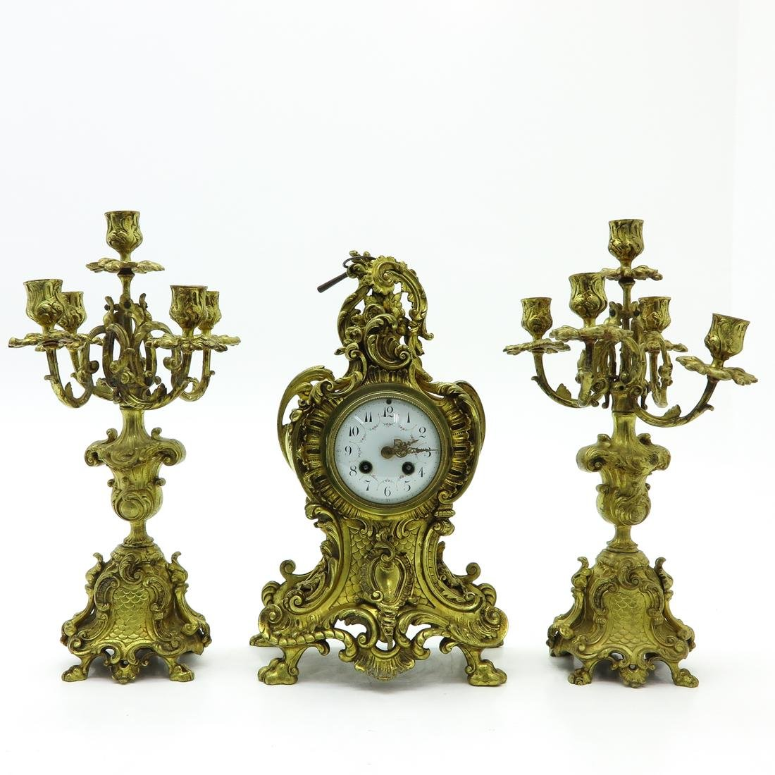 3 Piece Clock Set