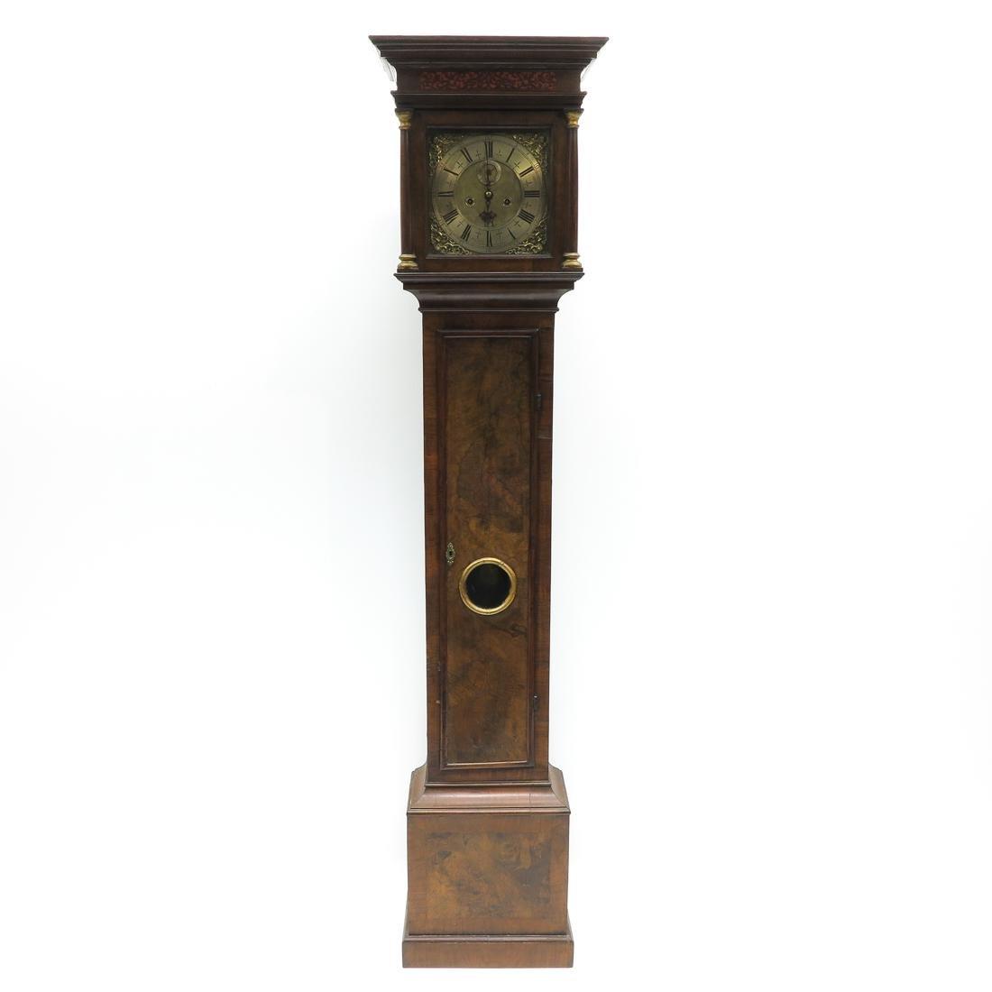 Signed 18th Century English Standing Clock