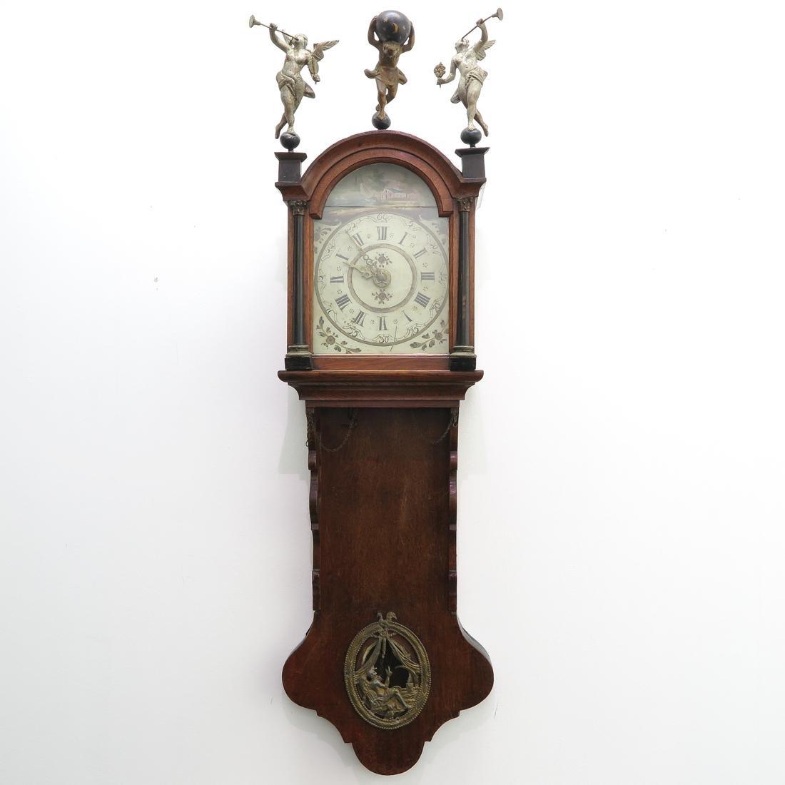 Dutch Wall Clock or Friese Staartklok