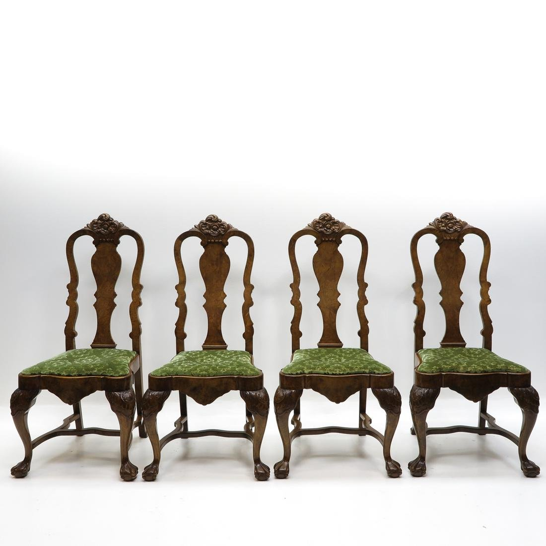 Lot of 4 Chippendale Chairs