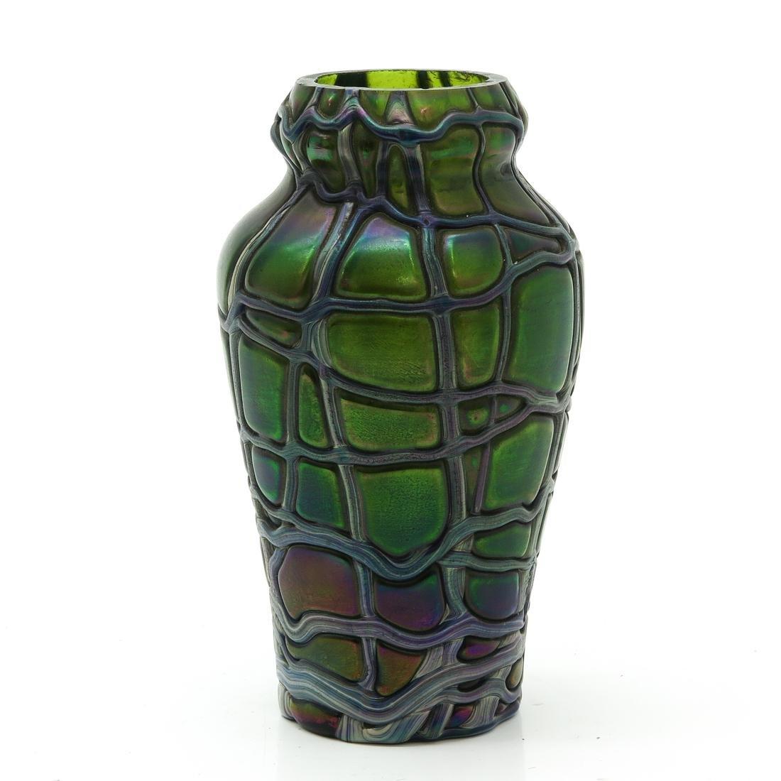Art Deco Loetz Vase