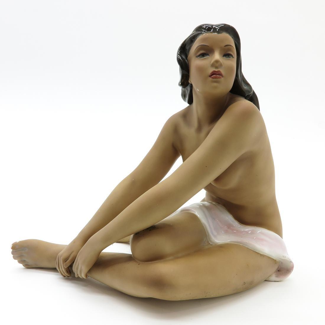 Le Bertetti Nude Sculpture
