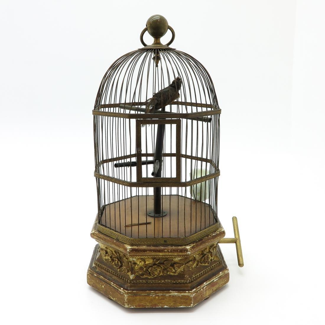 Musical Bird Cage Circa 1820